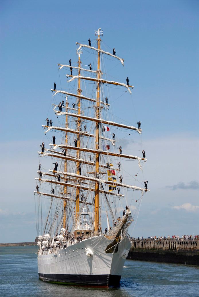 De Argentijnse driemaster Ara Liberta is zaterdag én zondag in Antwerpen te bezoeken.