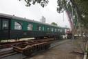 De treinwagon van De Houtloods.