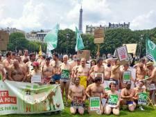 Lucie Lucas (Clem) et des citoyens posent nus pour soutenir une agriculture bio