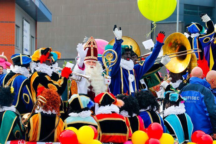 De intocht van Sinterklaas in Eindhoven