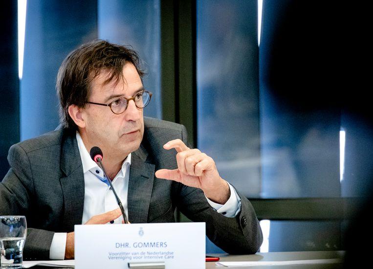 Diederik Gommers, voorzitter van de Nederlandse Vereniging voor Intensive Care. Beeld Hollandse Hoogte /  ANP