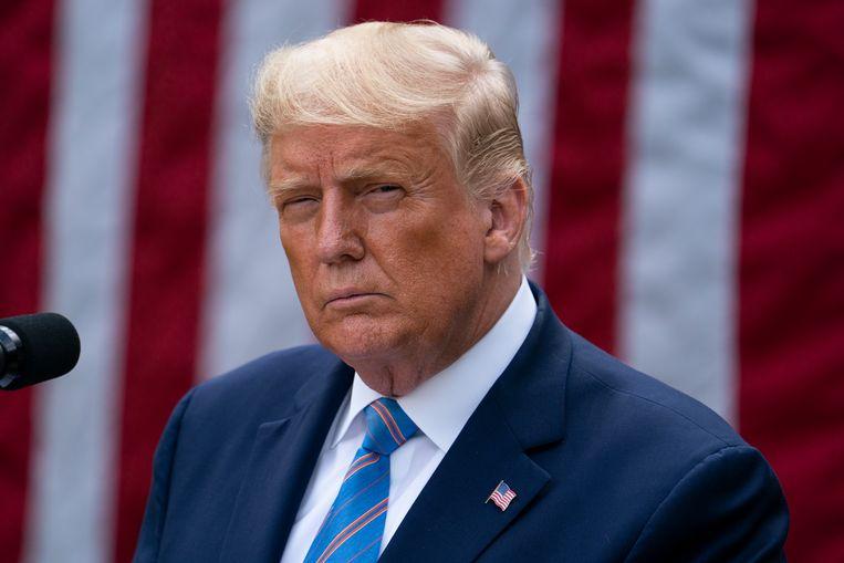 Republikeins president Donald Trump. Beeld AP