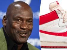 Deze schoenen van Michael Jordan zijn de duurste sneakers ooit