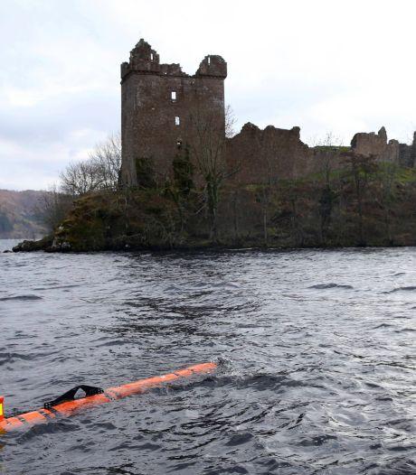 Vreugde ontdekking monster Loch Ness van korte duur