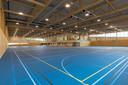 De nieuwbouw van de WRZV-hallen in Zwolle is bijna klaar.