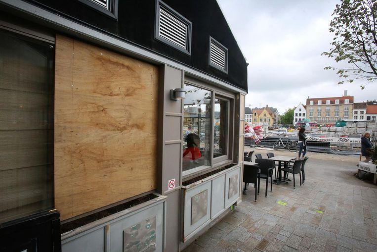 Ook in restaurant De Middenstand werd ingebroken.