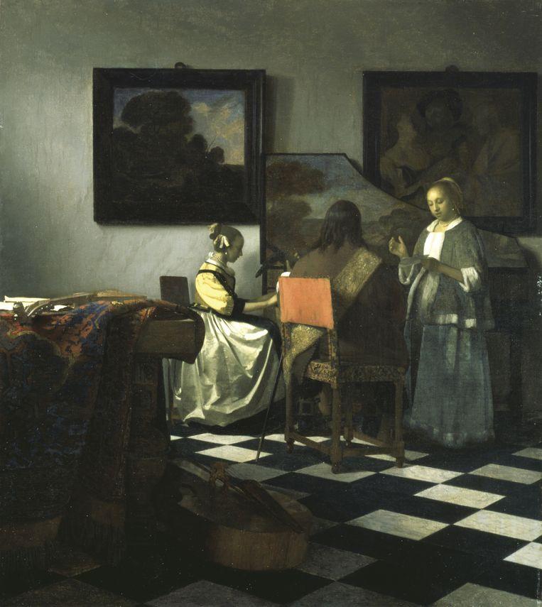 Het Concert van Johannes Vermeer. Beeld FBI.org