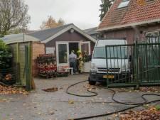 Brandje in dak van schuurtje in Heerjansdam snel onder controle