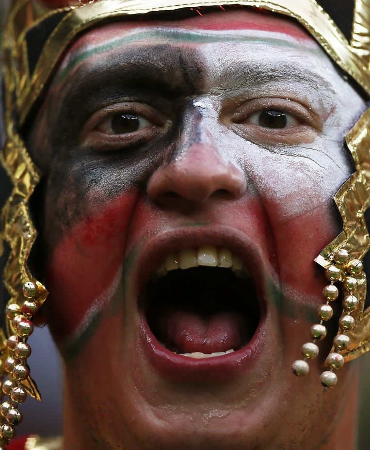 Een Mexicaanse fan in Recife Beeld epa