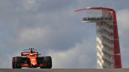 Stoffel Vandoorne veertiende in derde oefensessie GP Verenigde Staten, snelste tijd voor Lewis Hamilton