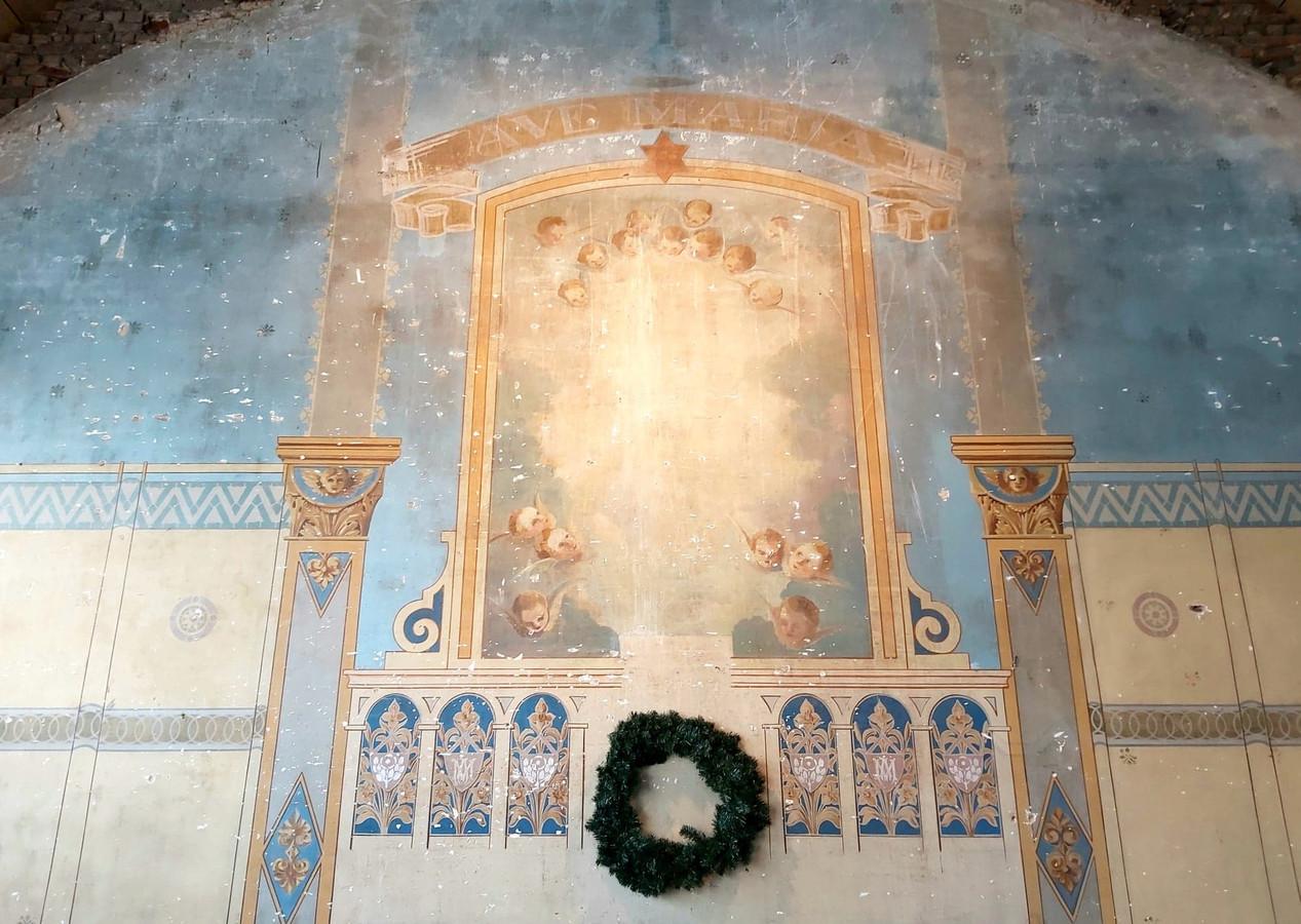 De muurschilderingen zijn prachtig.