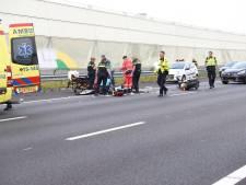 43-jarige motorrijder overleden aan verwondingen na ongeluk op A12 richting Den Haag