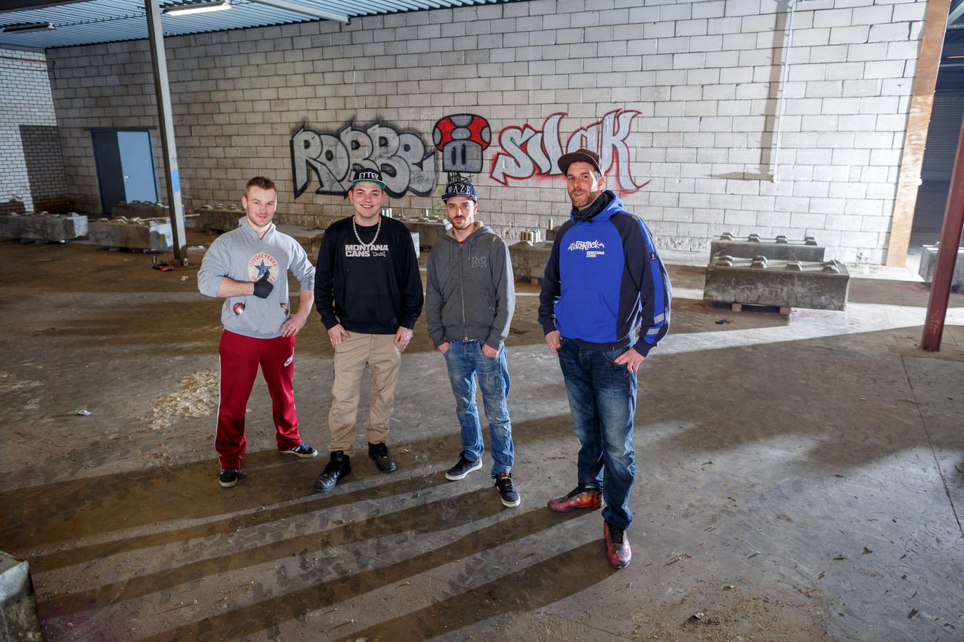 The Loods Graffiti Hall of Fame is een van de genomineerden voor de cultuurprijs in Roosendaal.