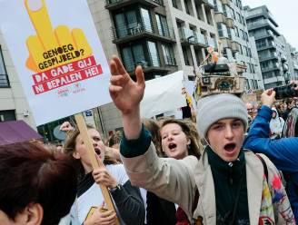 """600 betogers op nieuwe klimaatmars: """"Het wordt steeds moeilijker om op straat te komen"""""""