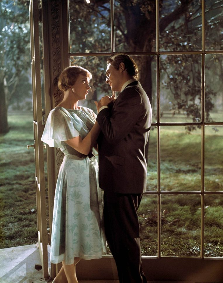 Julie Andrews en Christopher Plummer  in The Sound Of Music. Beeld Hollandse Hoogte / Mary Evans Picture Library Ltd.