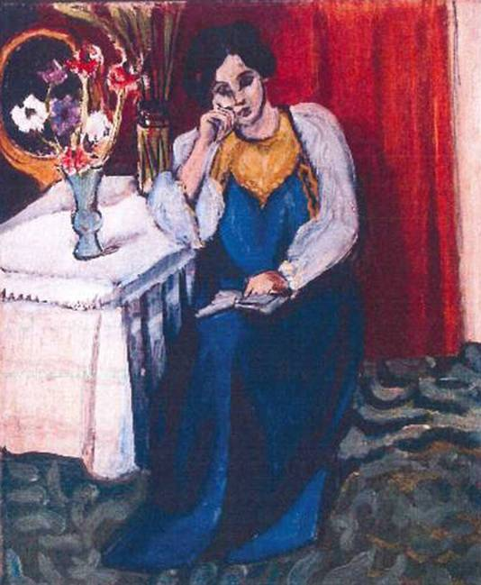 Henri Matisse: 'la Liseuse en Blanc et Jaune' (1919)