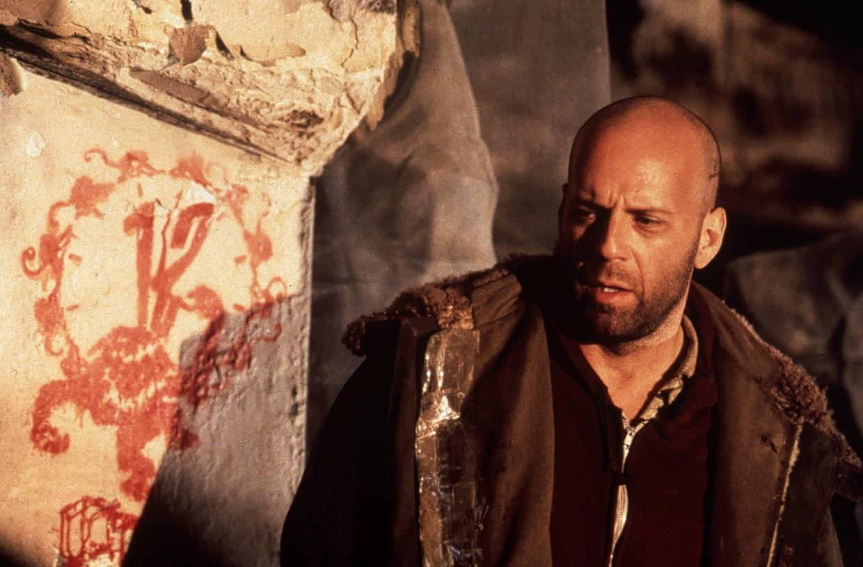Bruce Willis in 'Twelve Monkeys', vanavond op Canvas. Beeld