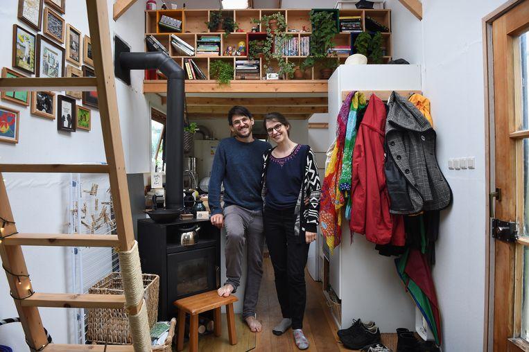 Den Haag: Bernhard Horl en Maria Mikulcova. Beeld Marcel van den Bergh