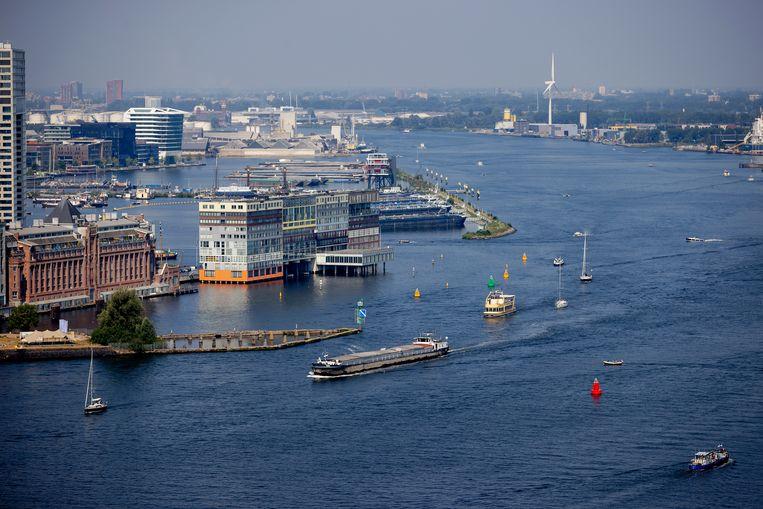 Op de nieuwe schepen kunnen per oversteek maximaal twintig auto's, vier vrachtwagens of 400 passagiers mee.  Beeld Hollandse Hoogte /  ANP