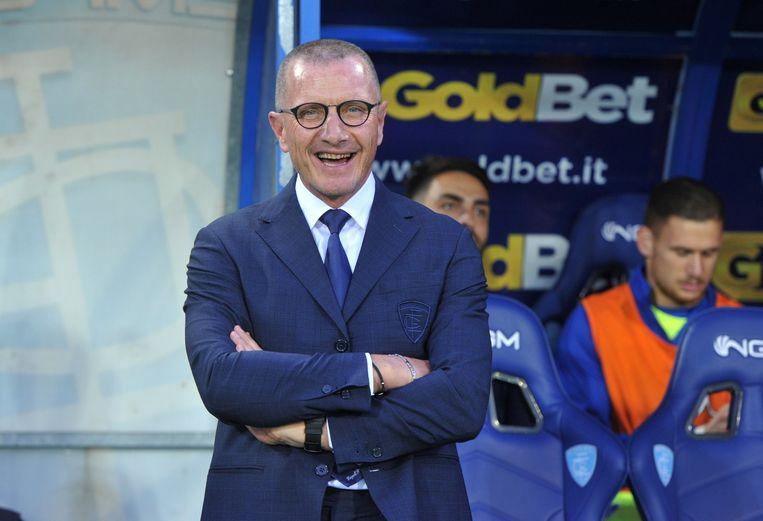 Empoli-coach Andreazolli.