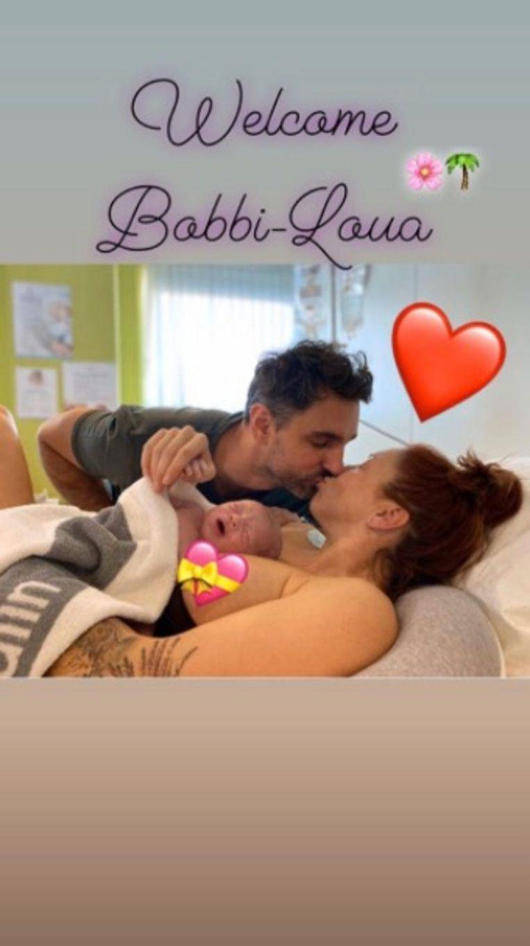 Natalia bevallen van dochtertje
