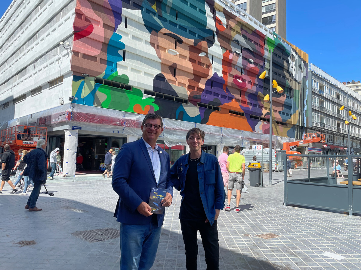 The Crystal Ship in de Vlaanderenstraat met Bart Tommelein en Bjorn Van Poucke