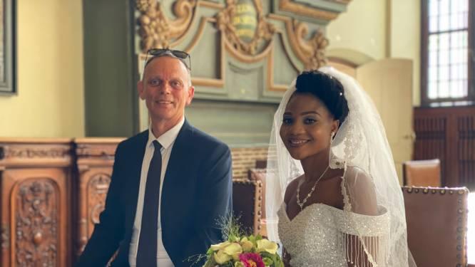 """Paul en Merab getrouwd na lange strijd: """"We hebben een jaar vol slapeloze nachten, eetproblemen en zelf zelfmoordgedachten achter de rug"""""""