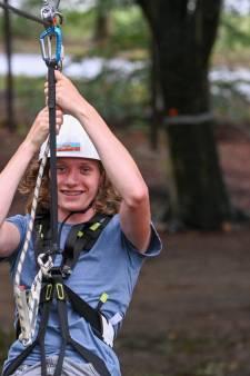 Adrenaline moet hoogtevrees verdringen in het nieuwe outdoor-funpark in Harderwijk