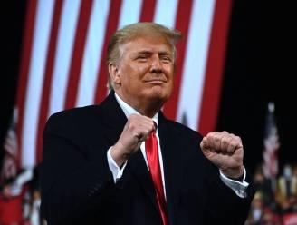 Ex-president Donald Trump bokscommentator bij duel Holyfield
