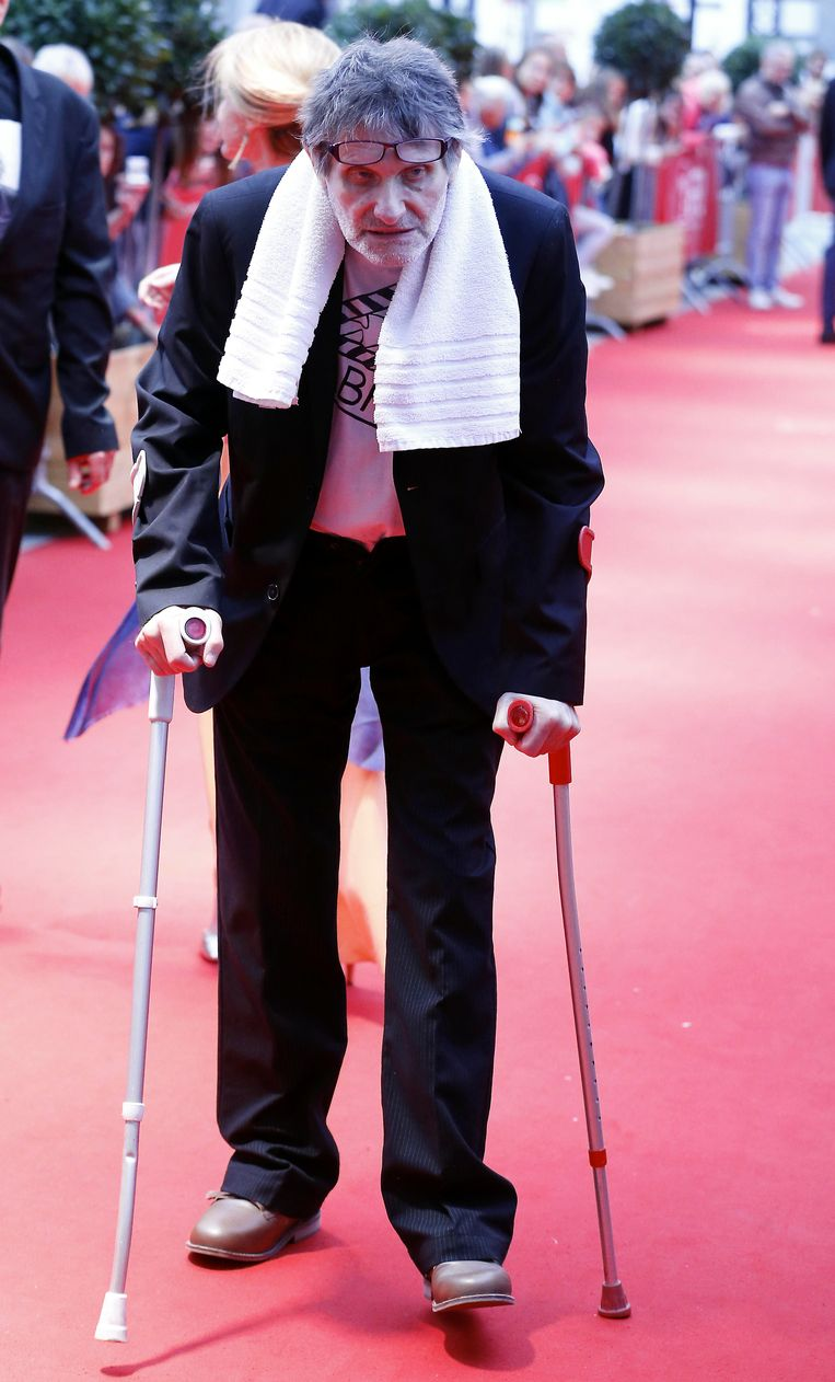 Robbe De Hert op de première van 'Hollywood Aan De Schelde'. Beeld BELGA