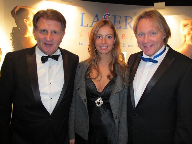Afdeling Laser Aesthetic: hier kunt u alles laten doen. Vlnr Jan Prevoo (haarimplantaat), Claren Wimmenhove (laserontharing) en Erwin Kettmann (hier en daar). <br /> Beeld