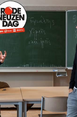 """INTERVIEW. UGent-professor Stijn Baert (38) en zijn leraar Grieks Alain Debbaut (60): """"Hij leerde me buiten de lijntjes te kleuren"""""""