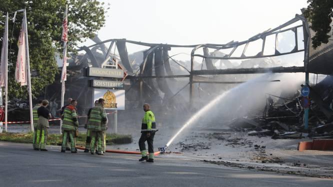 Schade verwoestende brand Soesterberg loopt in de miljoenen: 'Het is een grote ravage'