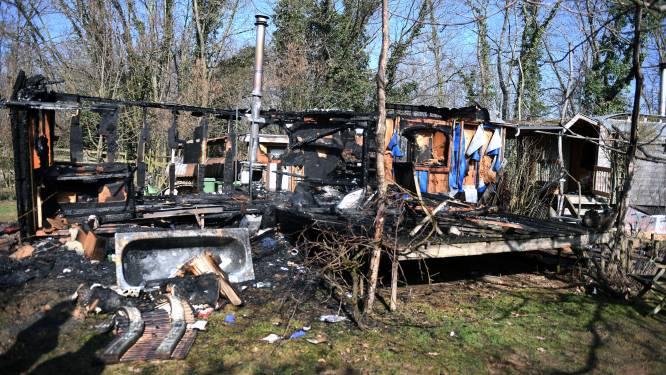 Woonwagen in Meistraat verwoest door brand