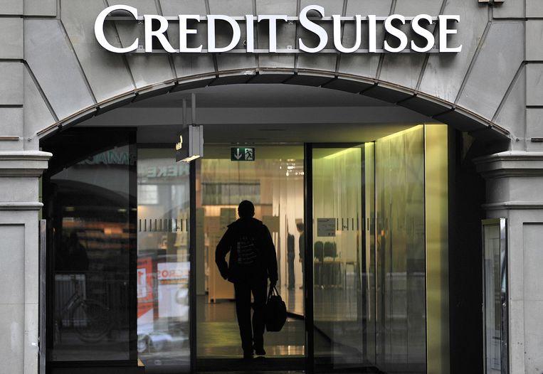 Zakenbank Credit Suisse vreest een negatief resultaat in het tweede kwartaal vanwege het echec van Archegos. Beeld Hollandse Hoogte / AFP
