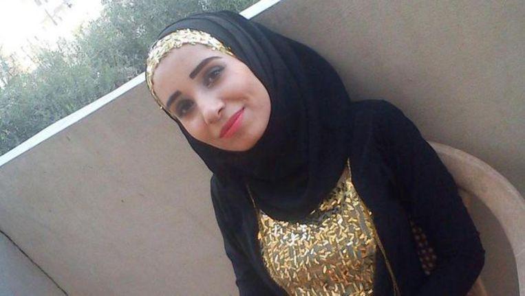 De Facebookfoto van burgerjournalist Ruqia Hassan, gepubliceerd door The Independent. Beeld Facebook