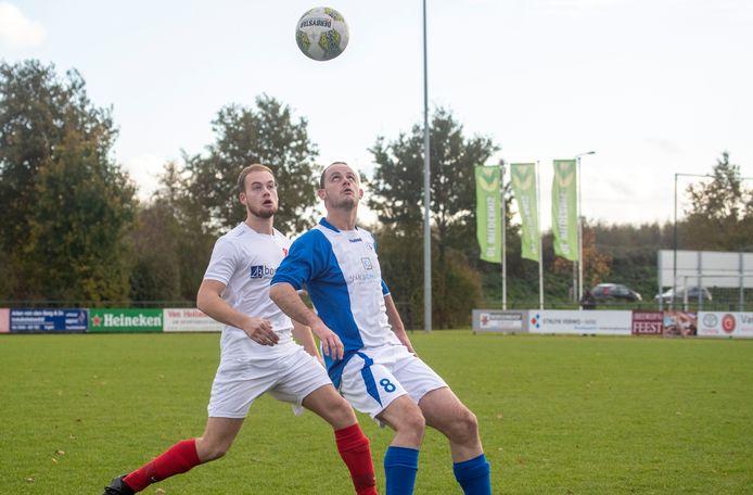 Ook de voetballers van SVP moeten het met alleen trainen doen, wedstrijden (zoals hier tegen Candia'66) zijn er waarschijnlijk pas weer in augustus.