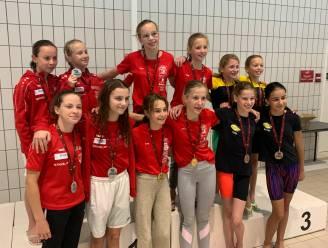 Hoogstraats Zwemteam kaapt 21 medailles weg