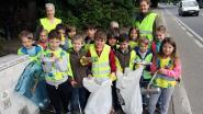 Leerlingen van zes basisscholen ruimen al het zwerfvuil op in hun omgeving