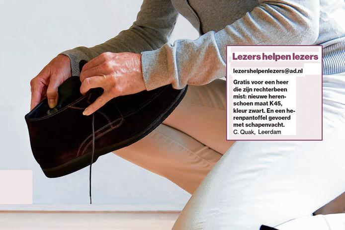 De opmerkelijke advertentie waarin wordt gezocht naar een heer met één been.