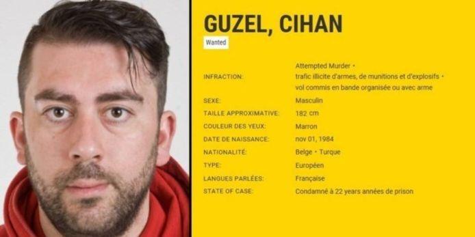 Guzel op de Most Wanted-lijst van Europol.