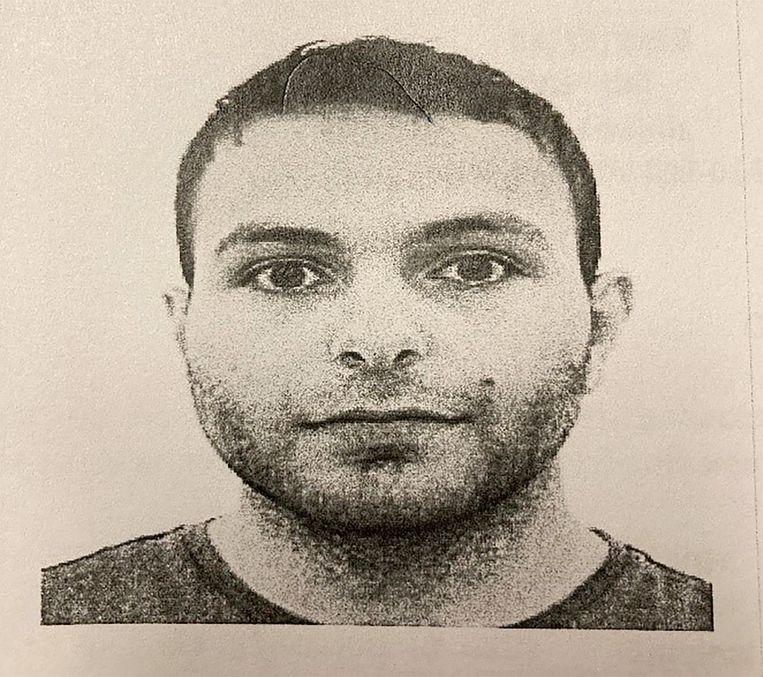 Dader Ahmad Alissa vermoordde tien mensen. Beeld EPA