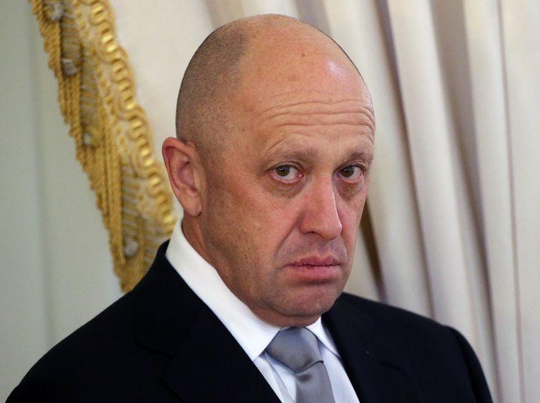 Jevgeni Prigozjin in juni 2016. Van deze man wordt aangenomen dat hij leiding geeft aan de Russische huurlingengroep Wagner. Beeld Getty Images