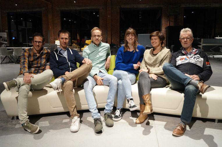 Het bestuur van het Inofec Triatlon Team Tielt.