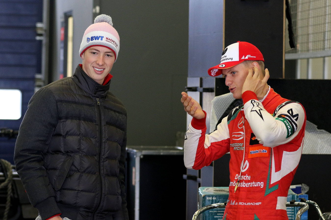 David en Mick Schumacher