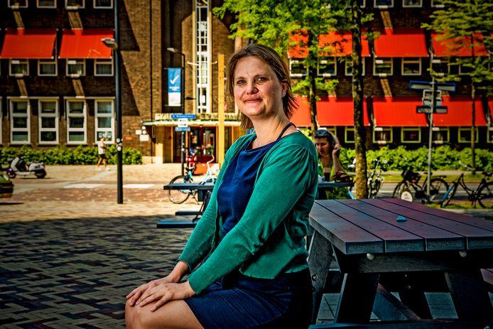 Marijke Mulder is een van de insprekers die deze week hun argumenten tegen het nieuwe Feyenoordstadion zullen toelichten. ,,Ik wil het gevoel hebben dat ik alles gedaan heb.''