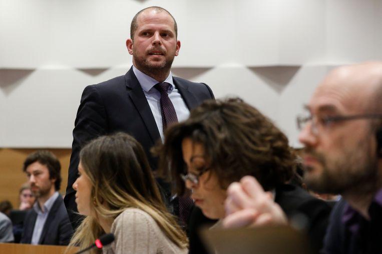 Gewezen staatssecretaris voor Asiel en Migratie Theo Francken (N-VA).