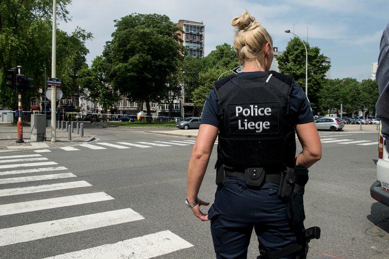 Aanslag in Luik: Benjamin Herman  heeft twee agenten en een voorbijganger doodgeschoten. Beeld Photo News