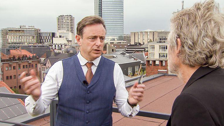 Jambers in de Politiek, seizoen 3, aflevering 3 op dinsdag 28 mei 2019 bij VTM. Op de foto: Bart De Wever.