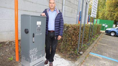 Bellekouterparking beschikt over elektrische laadpaal